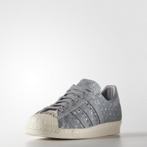 adidas Femme Originals Superstar 80s (S81327) - Clear gris/Clear gris/Light Onyx