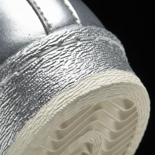 adidas Homme Originals SUPERSTAR 80s METALLIC PACK(S82741) - argent Met. / argent Met. / Off blanc