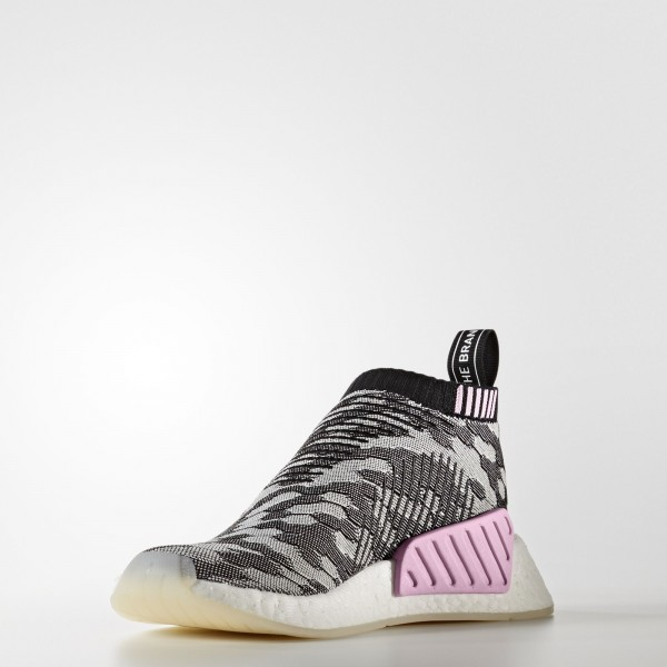 adidas Femme Originals NMD_CS2 Primeknit (BY9312) - Core Noir/Core Noir/Wonder Rose