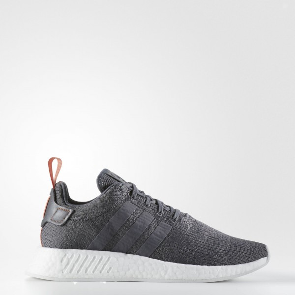 adidas Homme Originals NMD_R2 (BY3014) - gris Five /gris Five /Future Harvest
