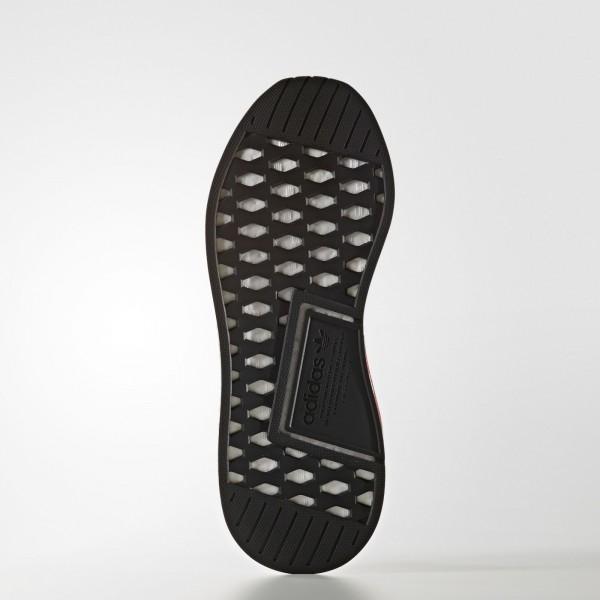 adidas Homme Originals NMD_R2 Primeknit (BY3015) - Footwear blanc/Core Noir/Footwear blanc