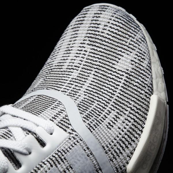 adidas Originals NMD_R1 Primeknit (BY1911) - Footwear blanc/Core Noir -Unisex