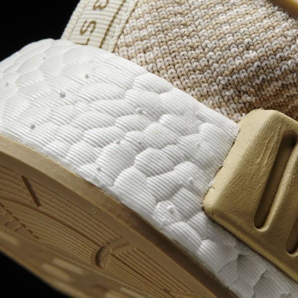adidas Originals NMD_R1 Primeknit (BY1912) - Linen Khaki/Off blanc -Unisex