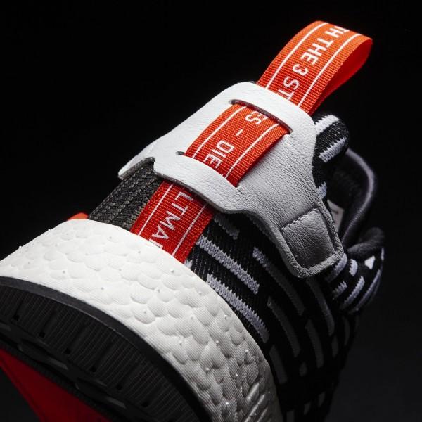 adidas Originals NMD_R2 Primeknit (BB2951) - Core Noir/Footwear blanc -Unisex