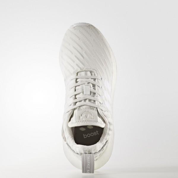 adidas Femme Originals NMD_R2 Primeknit (BY2245) - Clear Granite/Vintage blanc/Footwear blanc
