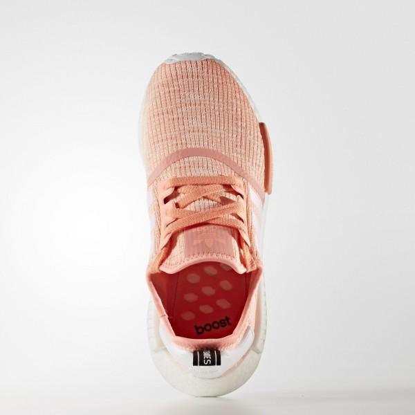 adidas Femme Originals NMD_R1 (BY3034) - Sun Glow/Footwear blanc/Haze Coral