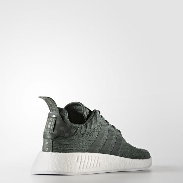 adidas Femme Originals NMD_R2 (BA7261) - Utility Ivy/Footwear blanc/Trace vert