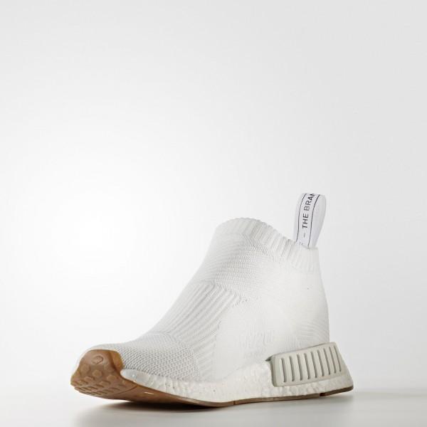 adidas Originals NMD_CS1 Primeknit (BA7208) - Footwear blanc/Gum -Unisex