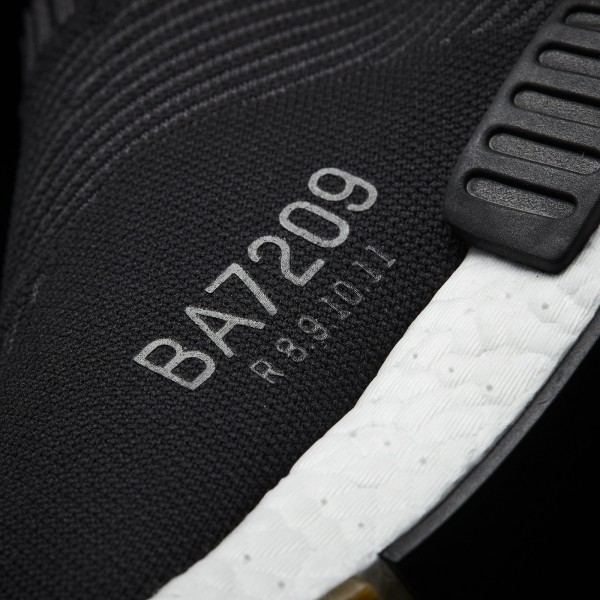 adidas Originals NMD_CS1 Primeknit (BA7209) - Core Noir/Gum -Unisex