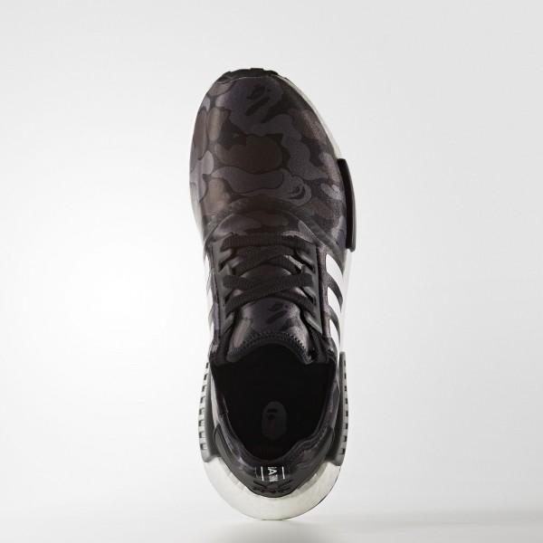 adidas Originals NMD_R1 Bape Camouflage (BA7325) - Pantone/ blanc/ blanc -Unisex