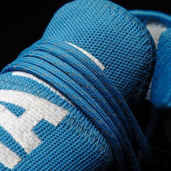 adidas Homme Originals Pharrell Williams Hu Race NMD (BB0618) - Sharp Bleu/Sharp Bleu/ blanc