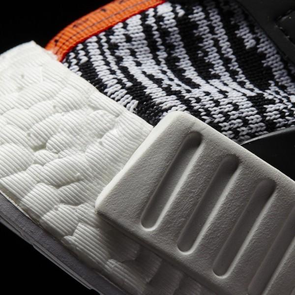 adidas Originals NMD_XR1 Primeknit (S32216) - blanc/Core Noir/Semi Solar rouge -Unisex