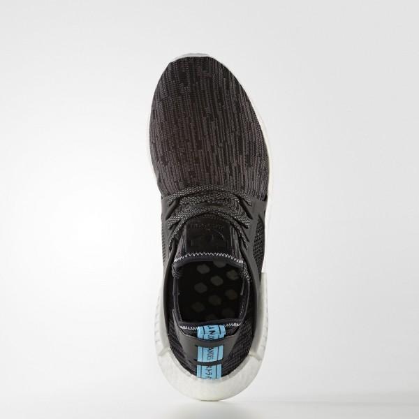 adidas Originals NMD_XR1 Primeknit (S32215) - Utility Noir/Core Noir/Bright Bleu -Unisex