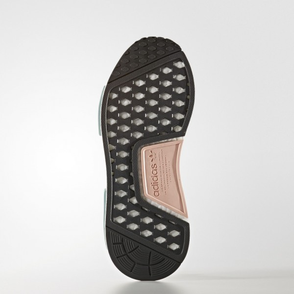 adidas Femme Originals NMD_R1 (S76010) - Vapour Steel/Vapour Steel/Vapour Rose