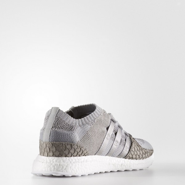adidas Homme Originals King Push EQT Primeknit Support Ultra (S76777) - Stone / Stone / Stone