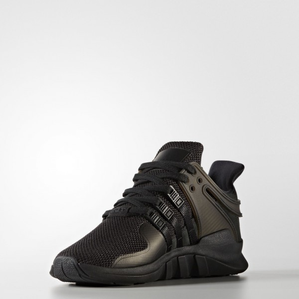 adidas Femme Originals EQT Support ADV (BY9110) - Core Noir/Core Noir/Sub vert