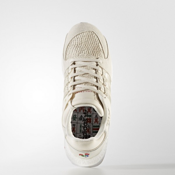 adidas Homme Originals EQT Support Ultra CNY (BA7777) - Chalk blanc/Footwear blanc