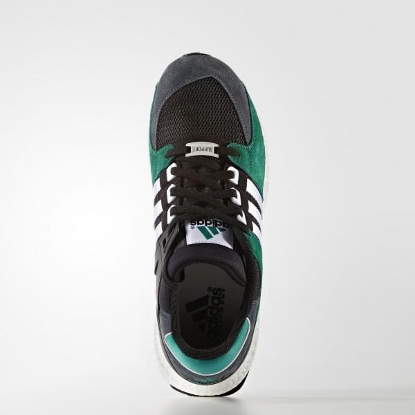 adidas Originals EQT Support 93/16 (S79923) - Core Noir/ blanc/Sub vert -Unisex