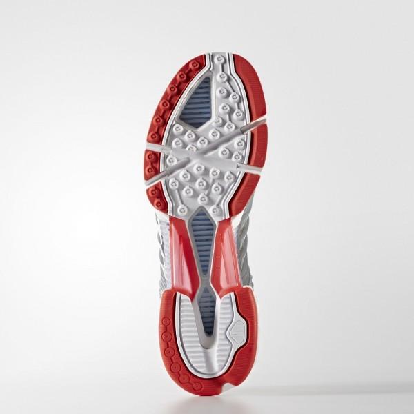 adidas Homme Originals Climacool 1 (BA7180) - Mid gris/rouge