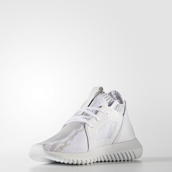 adidas Femme Originals Tubular Defiant Primeknit (BB5142) - Footwear blanc/Clear Granite