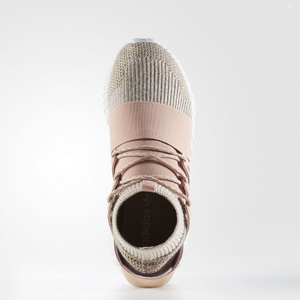 adidas Originals Tubular Doom Primeknit (BB2390) - Pale Nude/Clear marron/Vintage blanc -Unisex
