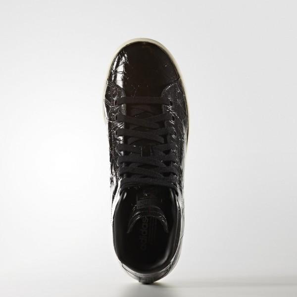 adidas Femme Originals Stan Smith Mid (BB0110) - Core Noir/Off blanc