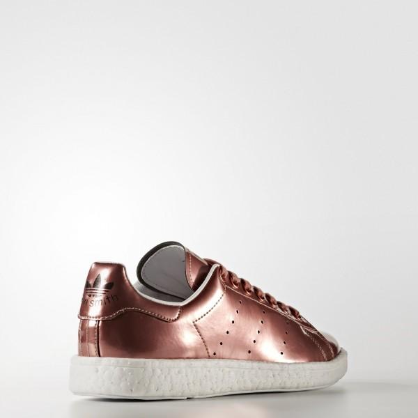 adidas Femme Originals Stan Smith Boost (BB0107) - Copper Metallic/Footwear blanc