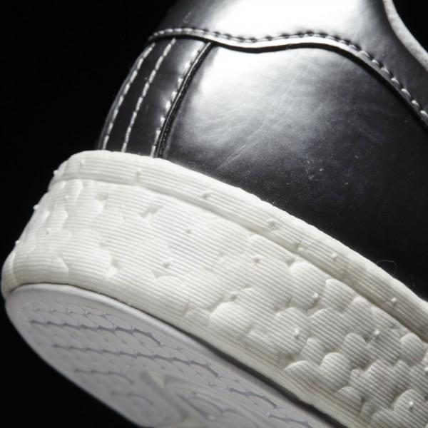 adidas Femme Originals Stan Smith Boost (BB0108) - argent Metallic/Footwear blanc