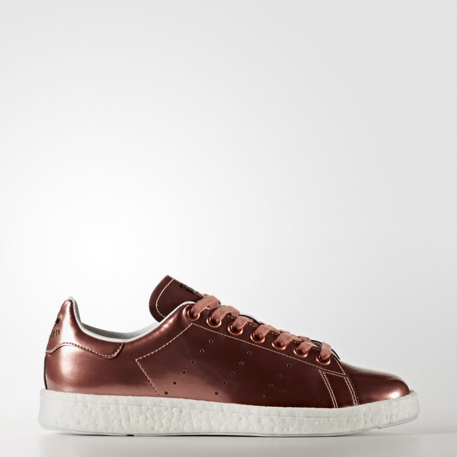 tout neuf 00321 3cb1f Chaussures adidas Stan Smith Boost | BB0107 |Femme |Copper ...