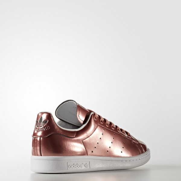 adidas Femme Originals Stan Smith (CG3678) - Copper Metallic/Footwear blanc