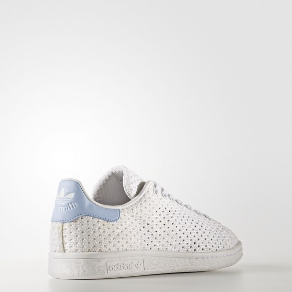 adidas Femme Originals Stan Smith (S82257) - Footwear blanc/Easy Bleu