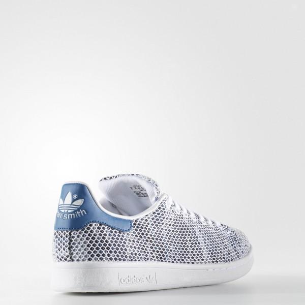 adidas Originals Stan Smith (S82251) - Footwear blanc/Core Bleu -Unisex