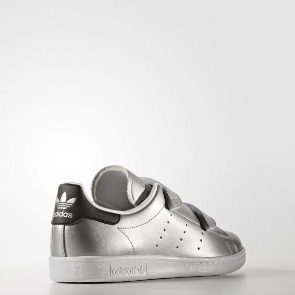 adidas Originals Fast Stan Smith (S76661) - argent Met./argent Met./Core Noir -Unisex