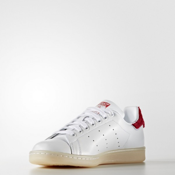 adidas Femme Originals Stan Smith (S32256) - blanc/ blanc/Collegiate rouge