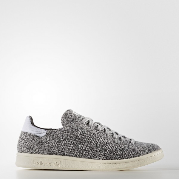 adidas Originals Stan Smith Primeknit (S80069) - Mgh Solid gris/Mgh Solid gris/ blanc -Unisex