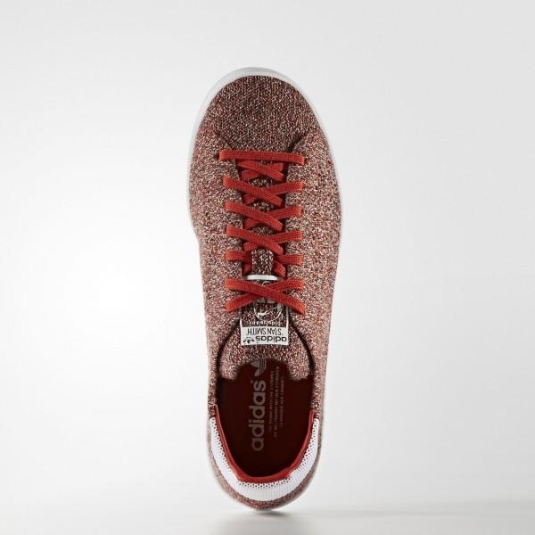 adidas Originals Stan Smith Primeknit (S80068) - Craft Chili/Craft Chili/ blanc -Unisex