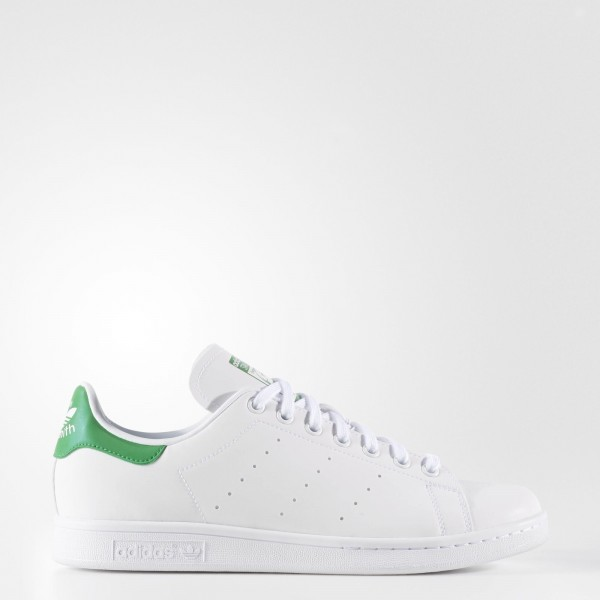 adidas Originals Stan Smith (AQ4775) - blanc/ blanc/vert -Unisex