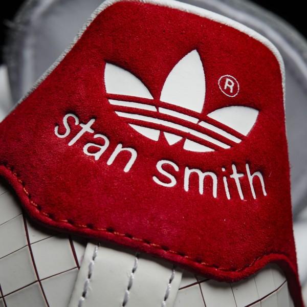 adidas Femme Originals Stan Smith (S32258) - blanc/ blanc/Collegiate rouge