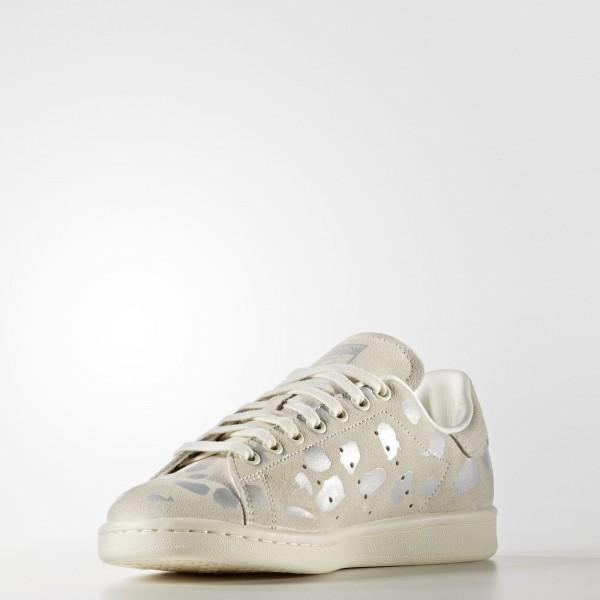 adidas Femme Originals Stan Smith (S32264) - Off blanc/Off blanc/argent Met