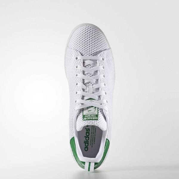adidas Originals Stan Smith (S80047) - blanc/ blanc/vert -Unisex