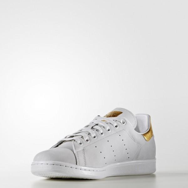 adidas Originals Stan Smith Gold Leaf (S80506) - Vintage blanc/Vintage blanc/Matte or -Unisex