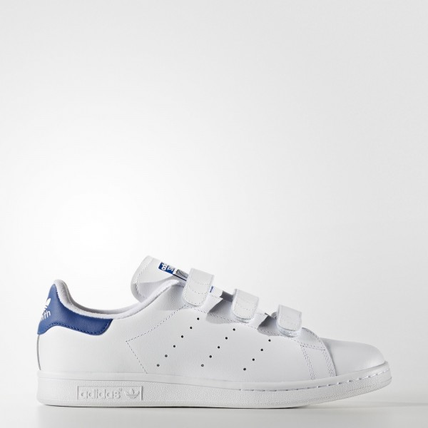 adidas Originals Stan Smith (S80042) - Footwear blanc/Collegiate Royal -Unisex