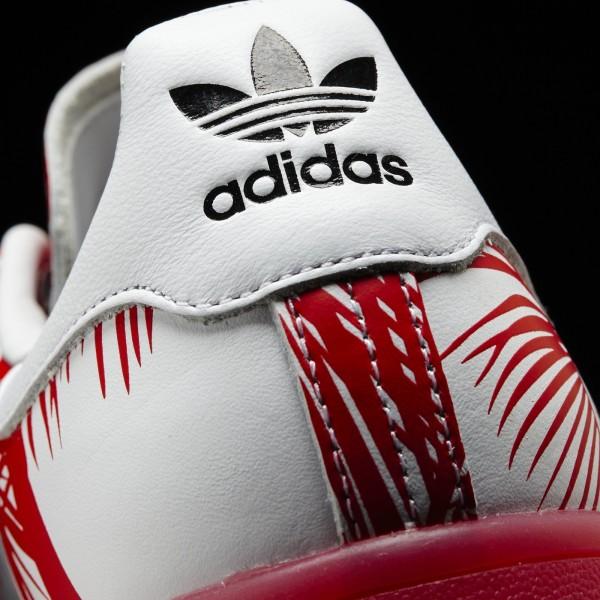 adidas Originals Pharrell Williams Stan Smith (S82072) - blanc/rouge/rouge -Unisex