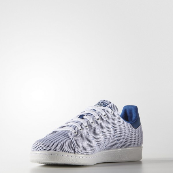 adidas Homme Originals Stan Smith (S81874) - Bleu/blanc/Bleu