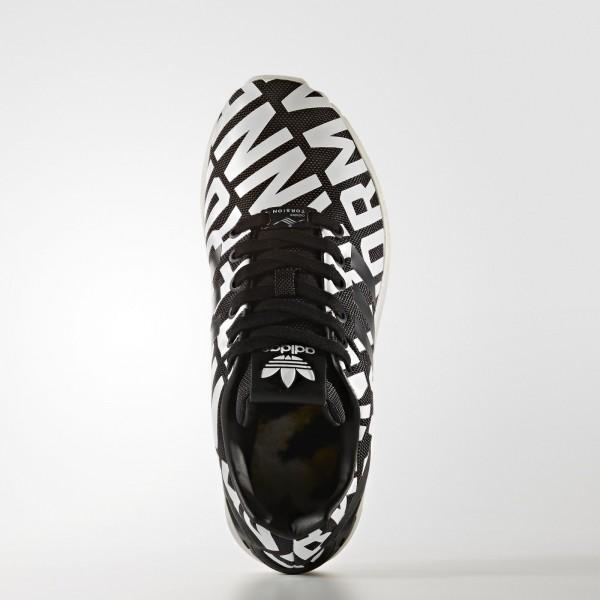 adidas Femme Originals ZX Flux (B72683) - Core Noir/Core Noir/Off blanc