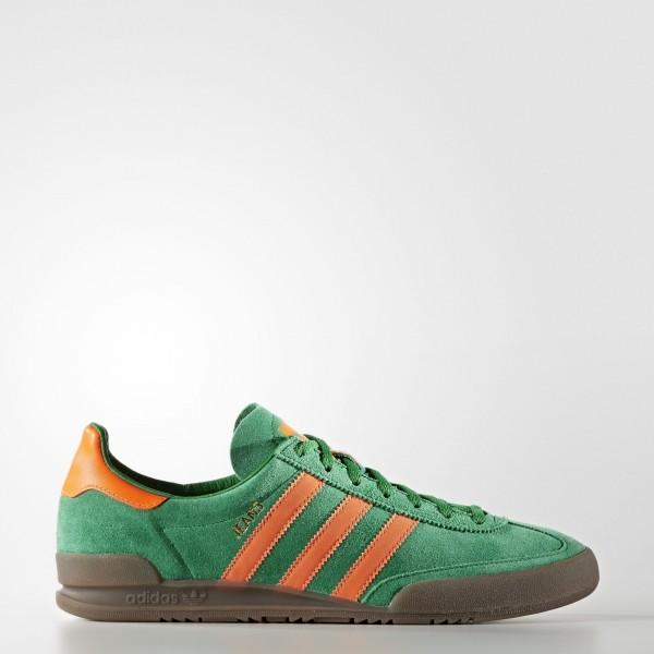 adidas Originals Jeans (S79996) - vert/Solar Orang...