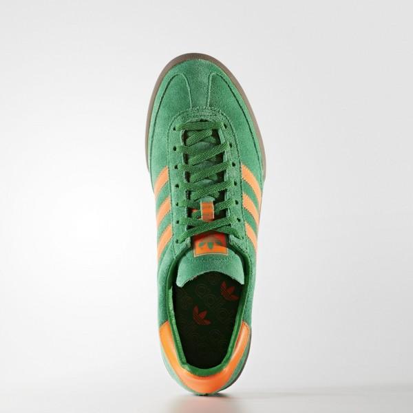 adidas Originals Jeans (S79996) - vert/Solar Orange/Gum -Unisex