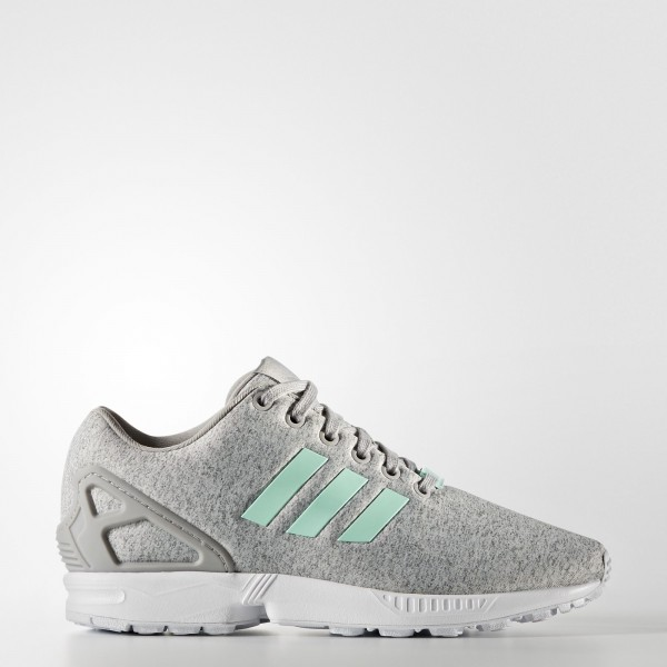adidas Femme Originals ZX Flux (BB2259) - Medium gris Heather/Easy Mint/Footwear blanc