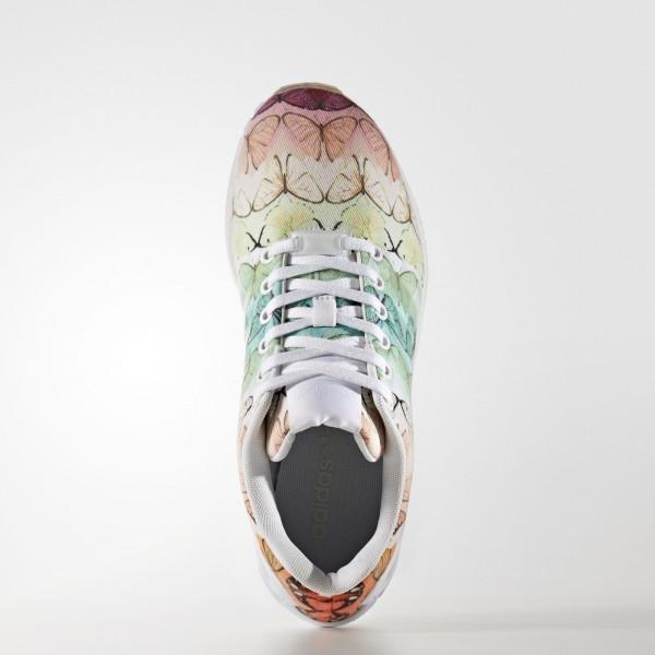 adidas Femme Originals ZX Flux (BA7644) - Footwear blanc/Linen vert