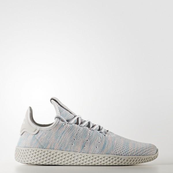 adidas Originals Pharrell Williams Tennis Hu (BY2671) - blanc/Noble Ink / Semi Frozen Jaune / Core Noir -Unisex